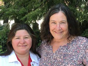 Helenice McDonald & Judy Knoll